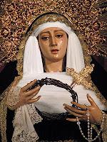 Nuestra Señora de los Dolores, de luto