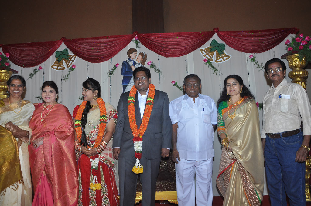 Actress Y Vijaya Daughter Wedding Reception Stills