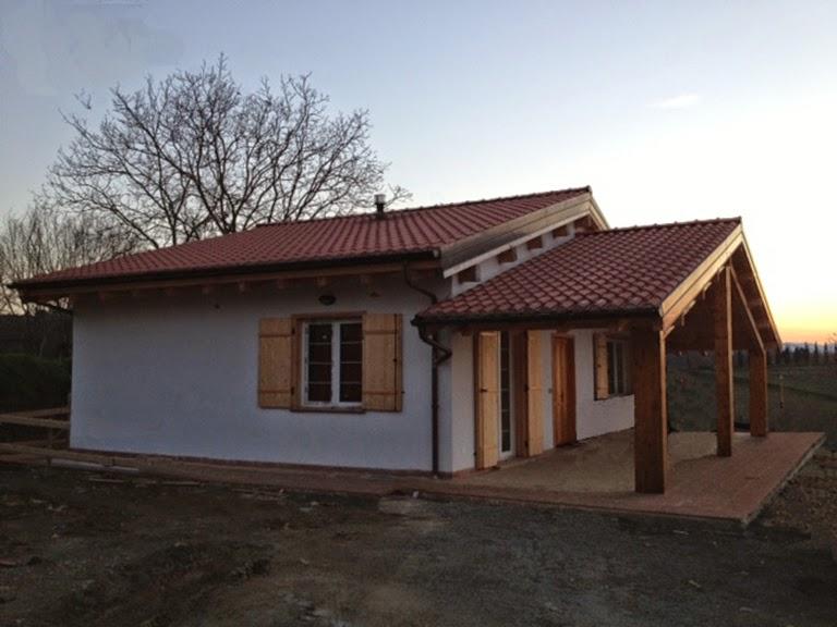 Progetti di case in legno casa 103 mq terrazza coperta for Progetti di casa sollevati