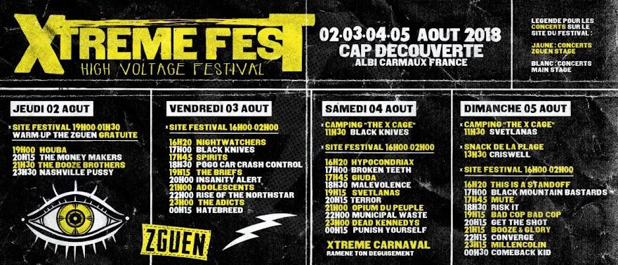Partenaire du Xtreme Fest 2018