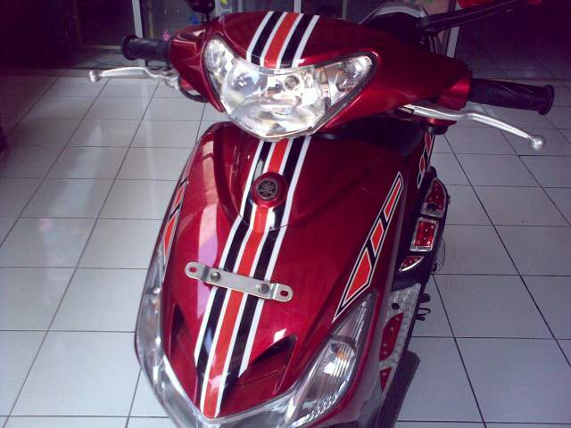 Cutting Sticker Yamaha Mio