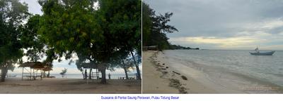 Pantai Saung Perawan, Pulau Tidung