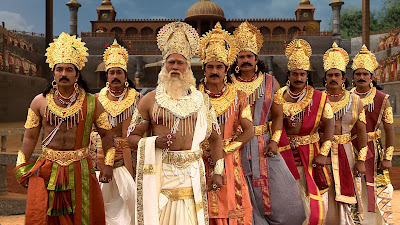 Mahabharatam (Tamil) Aired in Sun TV