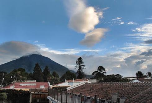 Vista Volcán de Agua