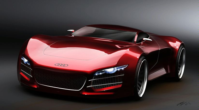 Fancy Cars: Audi Sports Car