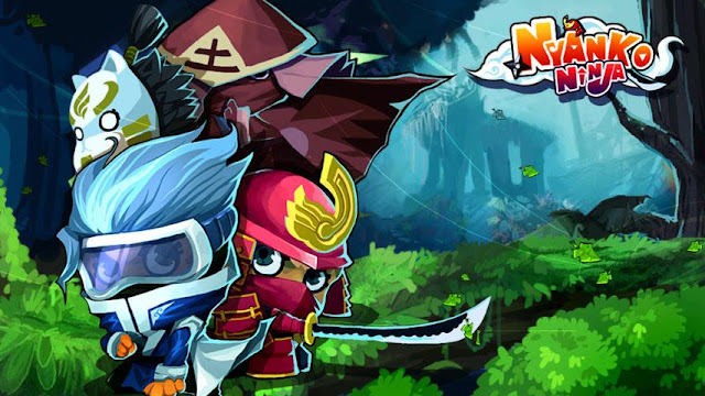Download Nyanko Ninja v1.08 Android Apk Free Mod [Unlimited Coins / Gems]