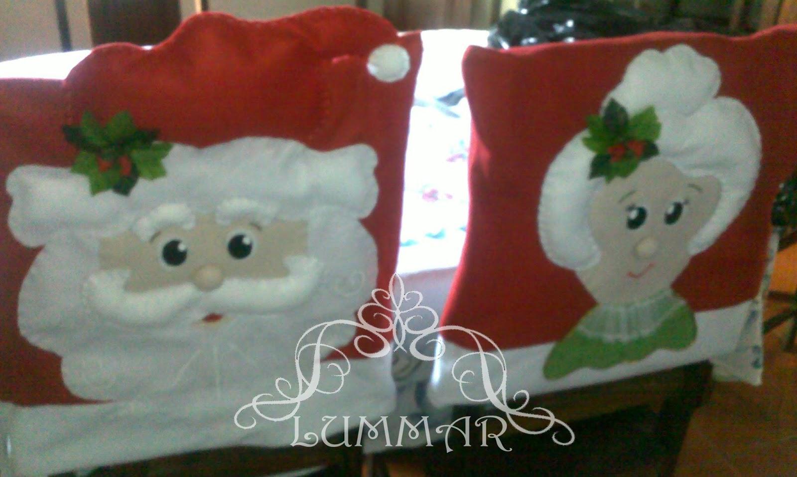 Capa cadeira Natal em feltro #6E2C23 1600x957