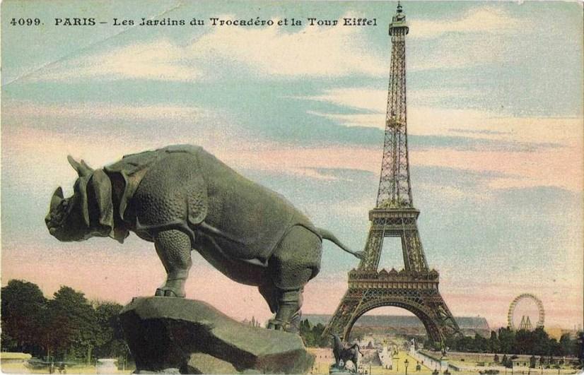 Paris-bise-art : Des sculptures animalières de Chaillot à Orsay (et ...