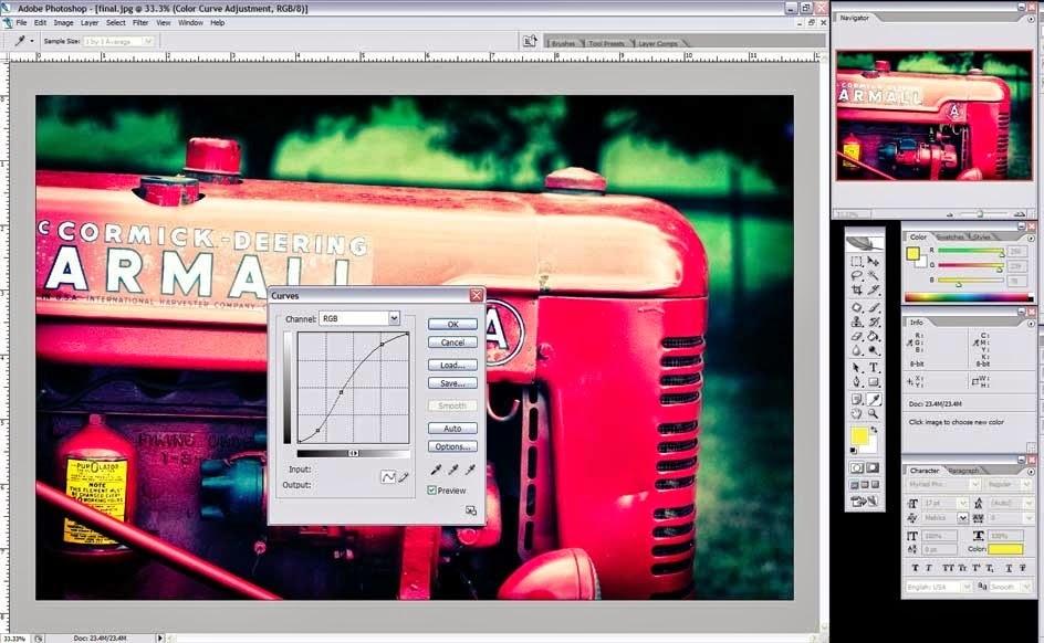 Cara Dan Langkah Edit Efek Foto Lomo Dengan Adobe Photoshop