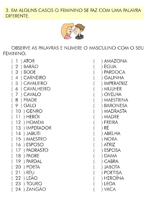 SUBSTANTIVOS COMUNS E PRÓPRIOS - SIMPLES E DERIVADOS