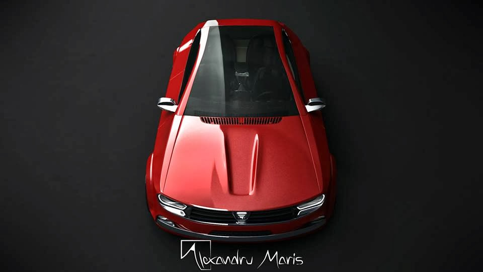 2014 Dacia 1300 Design Study By Alexandru Maris Video