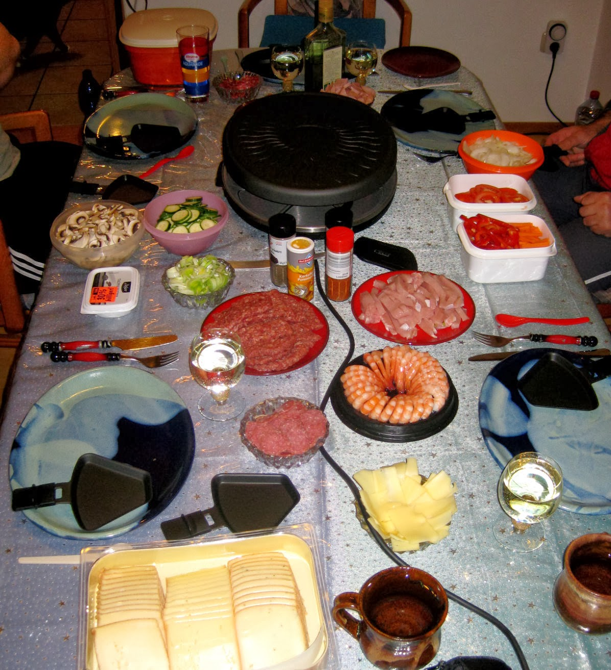 Raclette meal