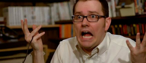 angry video game nerd works