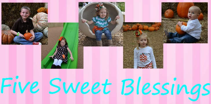 Five Sweet Blessings