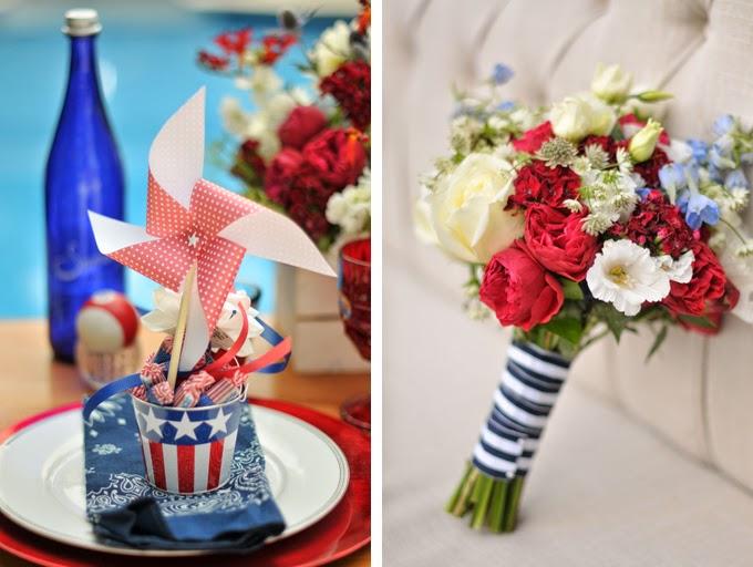 All-American Backyard Wedding