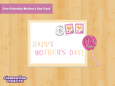 download and print free mother's day card