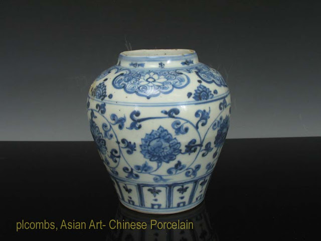Ming Jar from New England Estate Collection