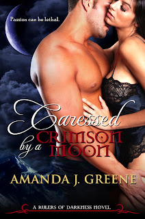 {Cover Reveal} Caressed by a Crimson Moon by Amanda J. Greene