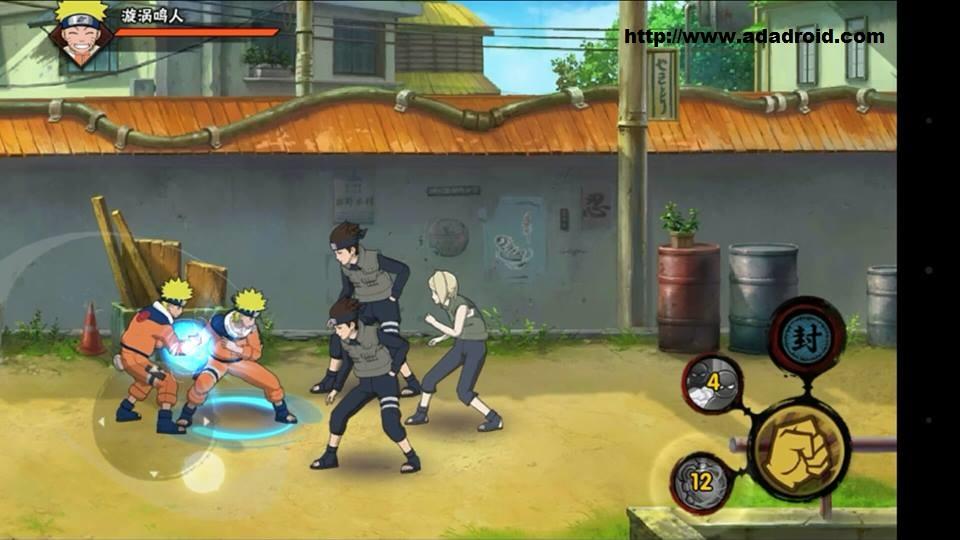 Naruto Mobile Fighter v1.5.2.9 Apk RPG gapmod.com AppMod