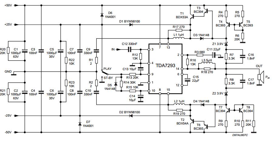 Admirable Forum Diagram Subwoofer Amplifier Tda7293 Wiring Database Ilarigelartorg