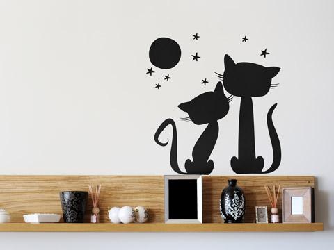 Retolspuntcom todo sobre vinilos animales en vinilos - Vinilos decorativos gatos ...