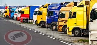 Januári kamionstop