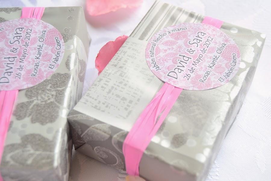 jabones de manteca de karite para detalles de boda
