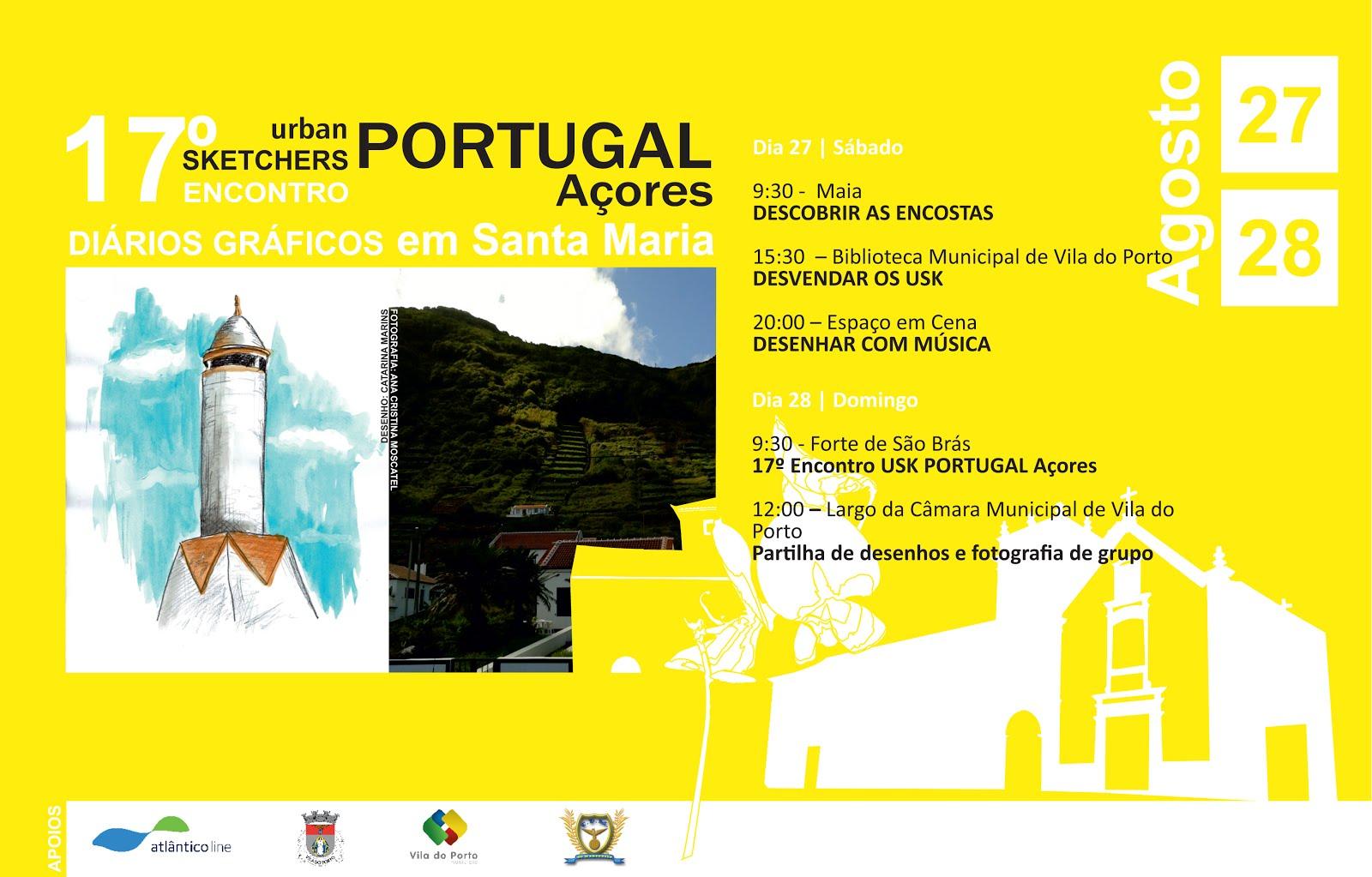 17º Encontro USK PORTUGAL Açores | Diários gráficos em Santa Maria