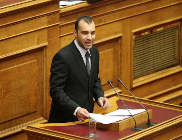Διαψεύδει κατηγορηματικά ο βουλευτής της Χρυσής Αυγής Παναγιώτης Ηλιόπουλος