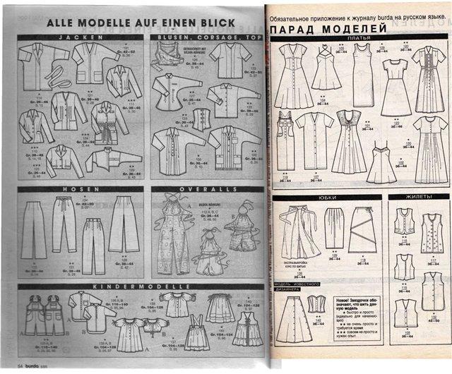 технические рисунки журнала бурда