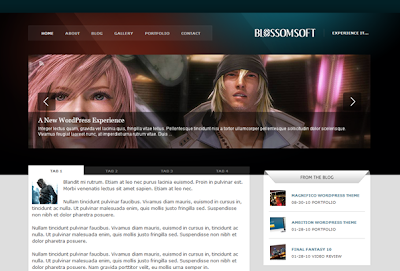Blossomsoft Wordpress Theme