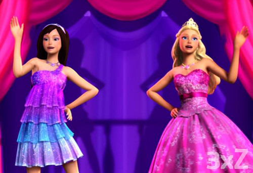 F a k e s m i l e - Barbie princesse popstar ...