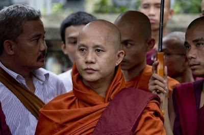 ini dia wirathu budha provokator pembantai muslim rohingya