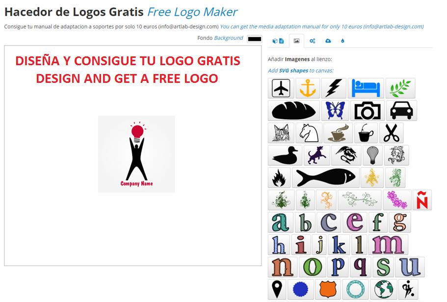 Consigue un logo gratis