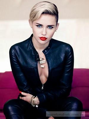 cortes pelo 2014 Miley Cyrus