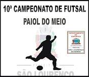 Futsal Paiol 2017