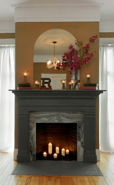 PAINT An Old Dresser UPDATE Your Fireplace MAKE A