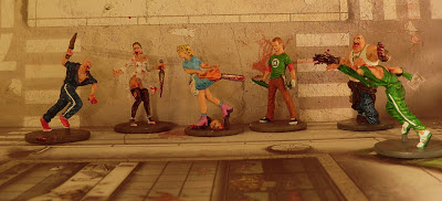 Dave the Geek and Wanda the Waitress Zombicide Zombie Action Survivor