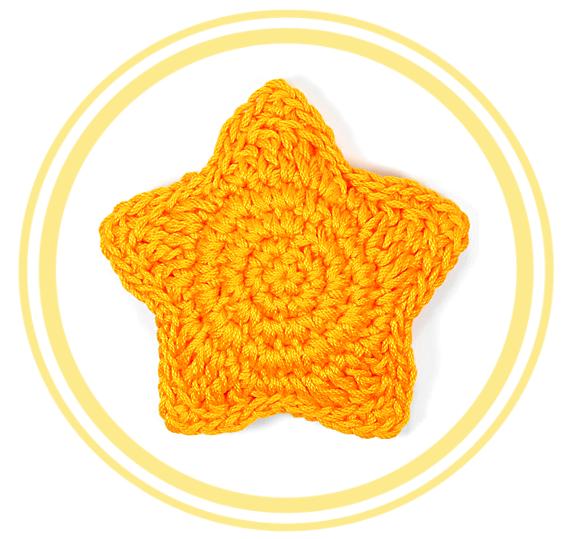 Estrella tridimensional o puffy de Crochet - PATRONES VALHALLA ...