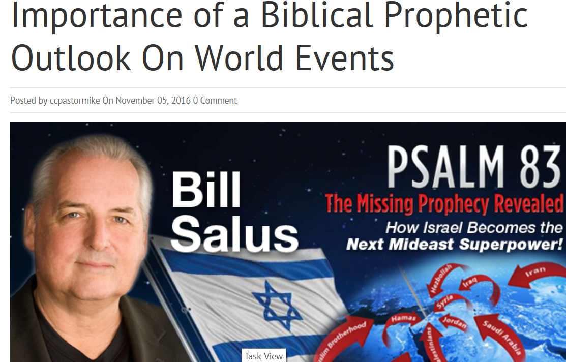 Bill Salus latest radio interview