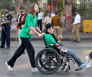 Bollywood Celebrities at Mumbai Marathon