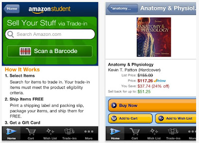 iPhone App Review: Amazon Student App