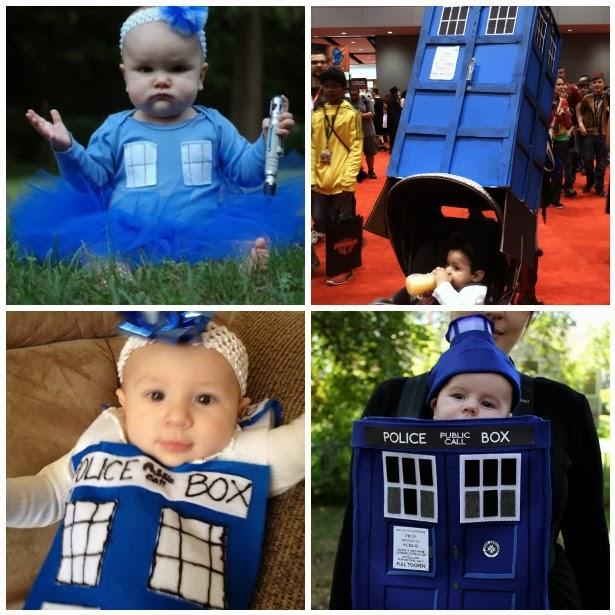 Tardis Baby Halloween Costume