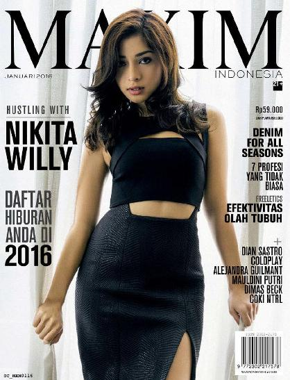 Majalah MAXIM Indonesia Edisi Januari 2016 Nikita Willy Model Artis Sexy Hot Indonesia | www.insight-zone.com