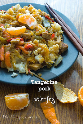 Pork and Tangerine Stir-Fry