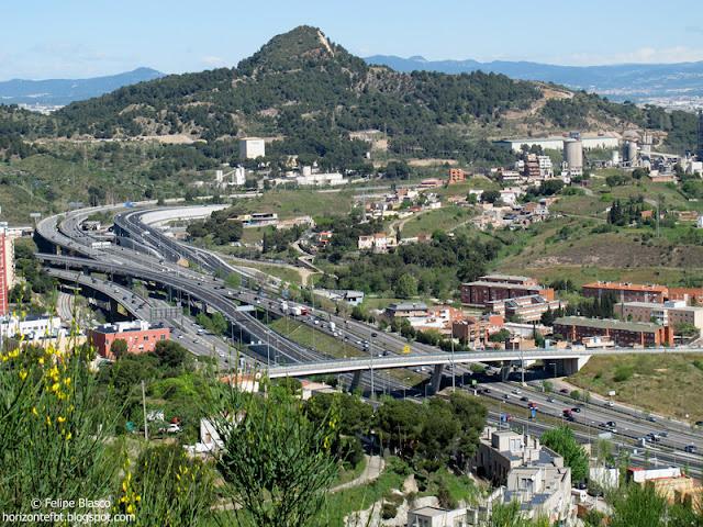 Autopistas C58 y C33 del Vallès a Barcelona