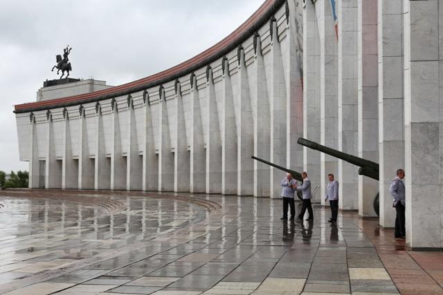 Entrada al Museo de la Gran Guerra Patriótica en Moscú