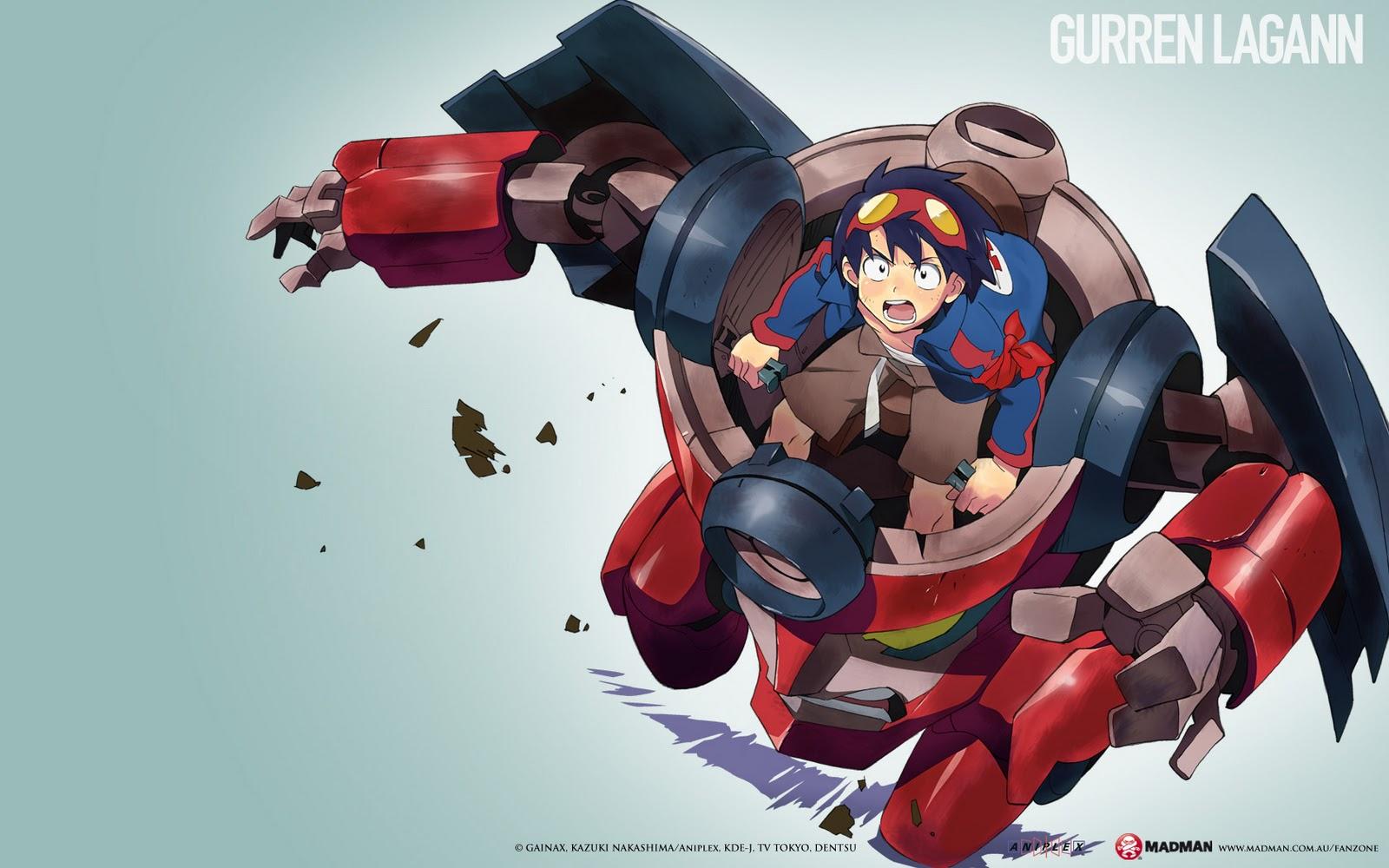 Ani-verse: The Anime Portal: Gurren Lagann
