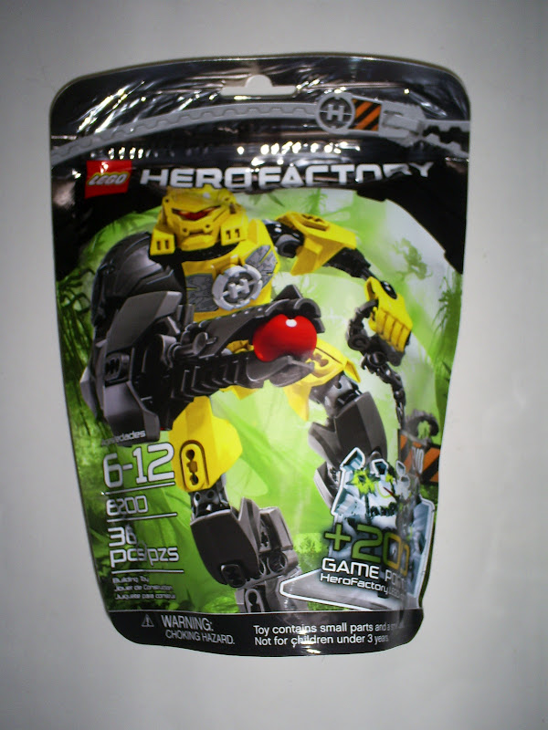 That Figures Review Lego Hero Factory Evo 40 Breakout