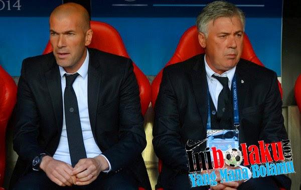 Zidane Kini Resmi Pelatih Utama Madrid